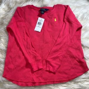 POLO. Long sleeve thermal